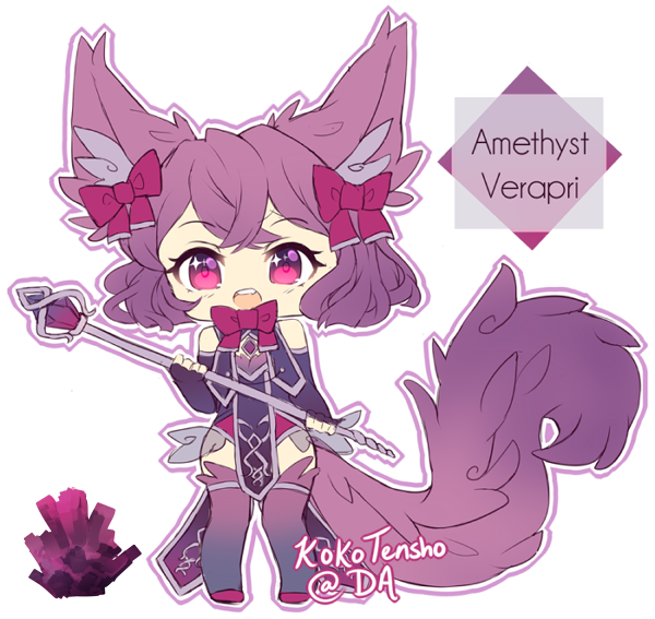 Amethyst Verapri Adopt [CLOSED] by KokoTensho