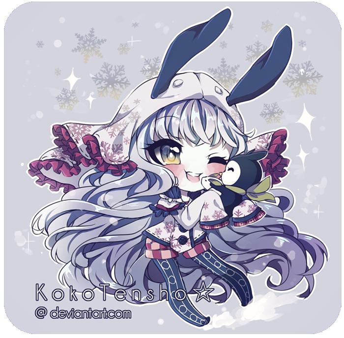 Chibi comm: Yukiko by KokoTensho
