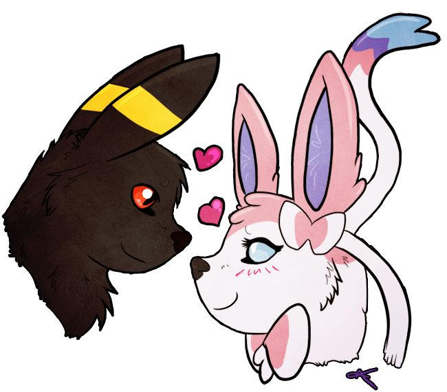 Umbreon Sfm: Umbreon Fell In Love With Sylveon! By Ristyana On DeviantArt