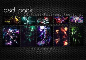 PSD Pack #1 by Madam-Mannal