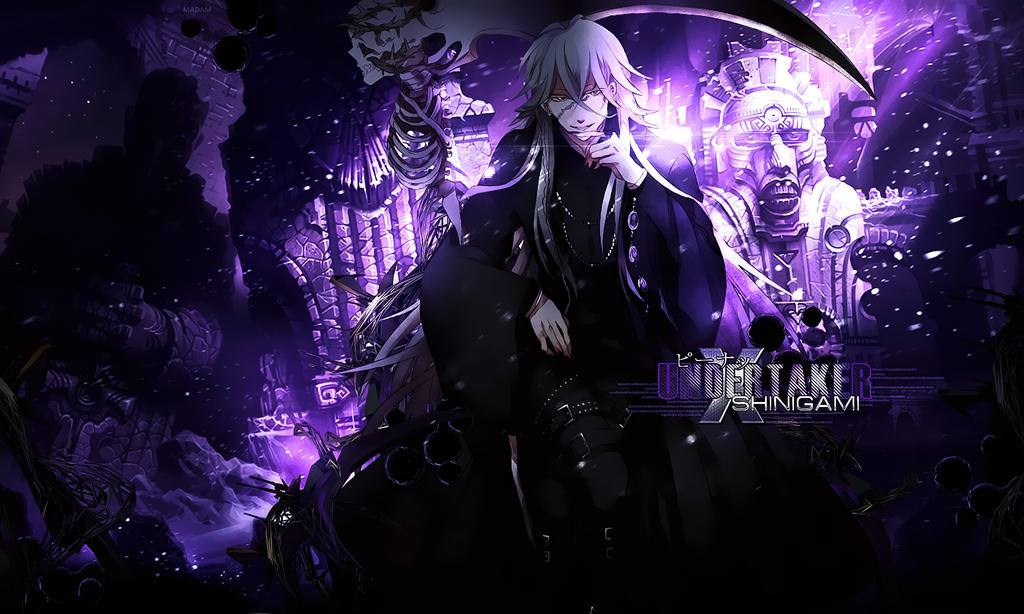 Undertaker Wallpaper by Madam-Mannal