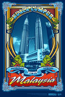 petronas twin towers_t-shirt