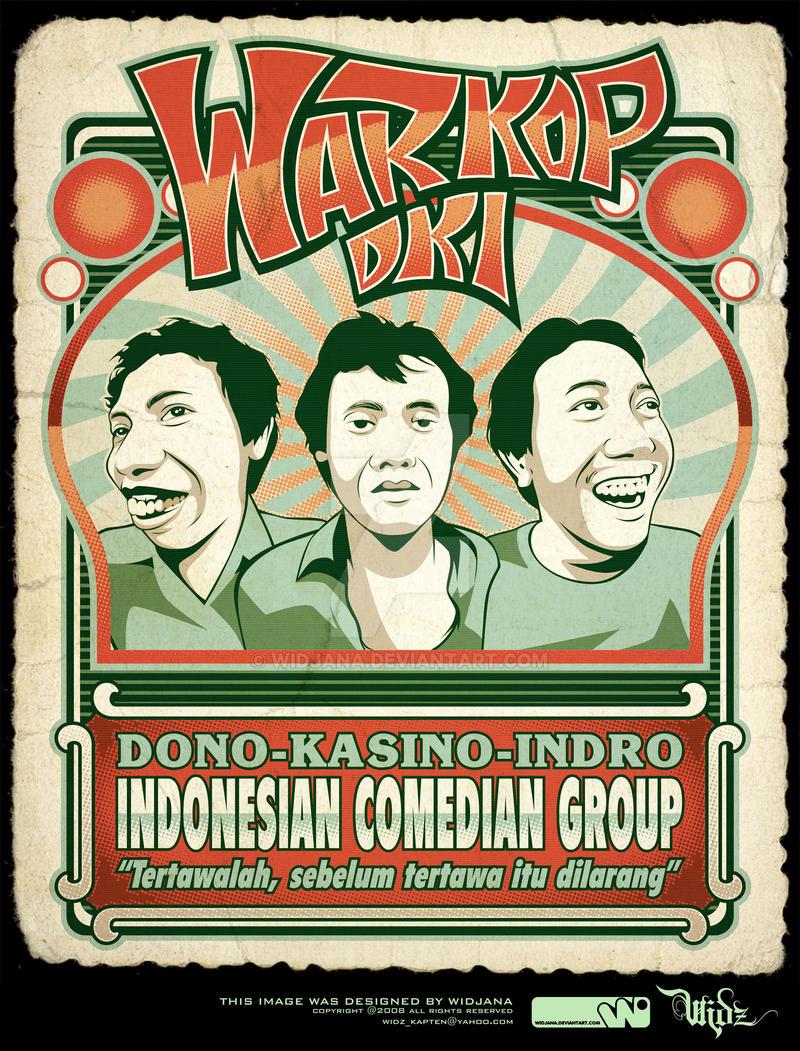 Warkop DKI_t-shirt by widjana