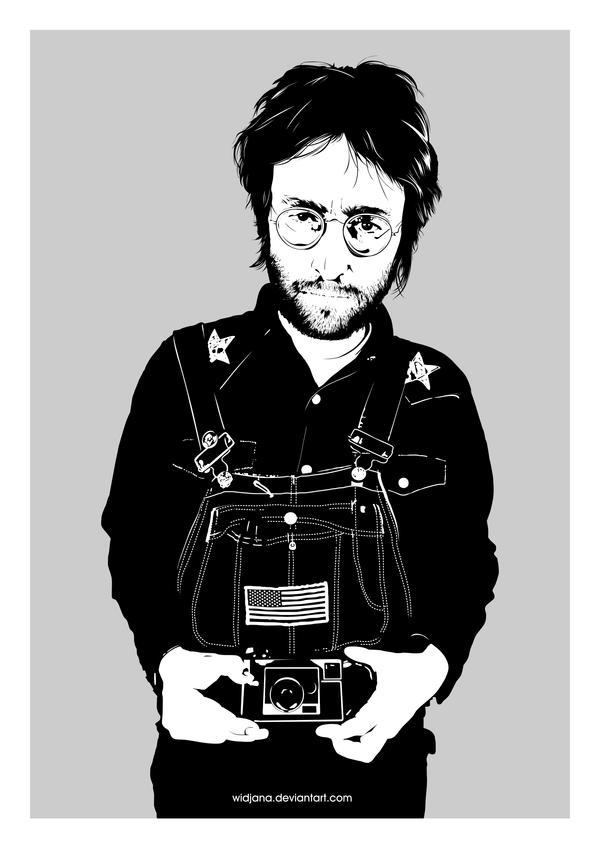 John Lennon by widjana