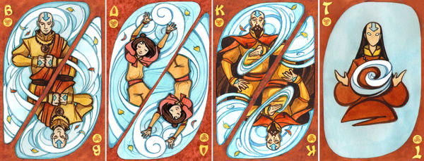 The Legend of Korra ,the Air Nomads by Biorn-21