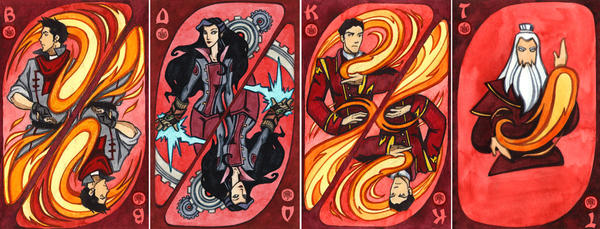 The Legend of Korra, the Fire Nation