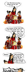Azula and fairy tales by Biorn-21