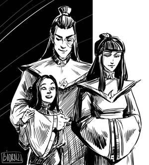 Zuko, Mai and Izumi