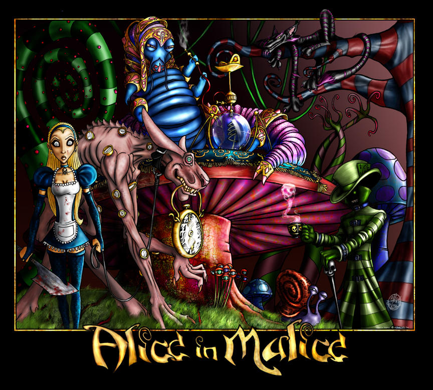 Alice in Malice Color by pinka1