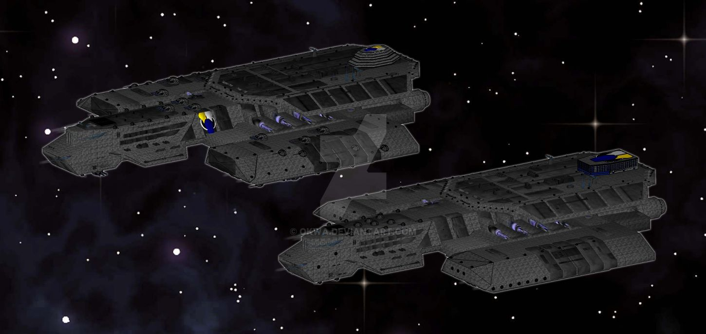 BS-312 Hammond-Class Battleship by Okwa