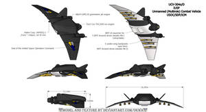 UCV-304 alpha/D Unmanned Combat Vehic
