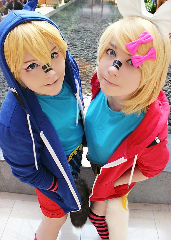 Rin+Len Matryoshka by Michi-Fox