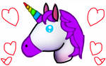 This is not a Horse at all it a unicorn