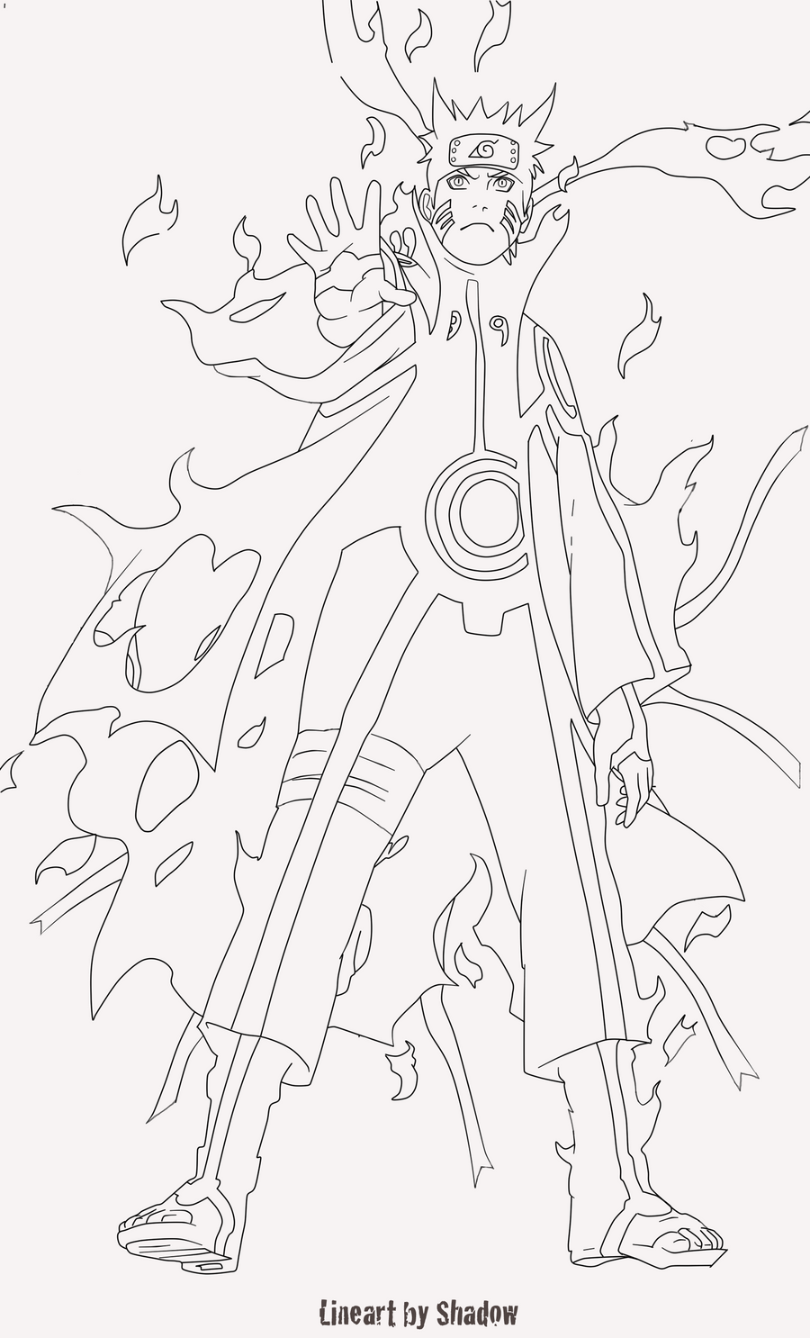 Image Result For Susanoo Coloring Page