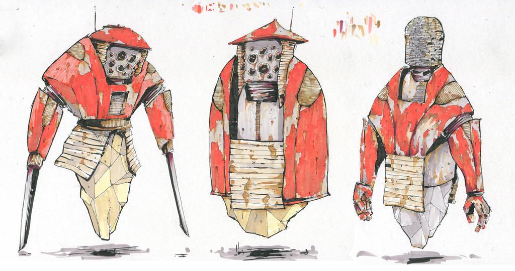 Robots by Yiannisun