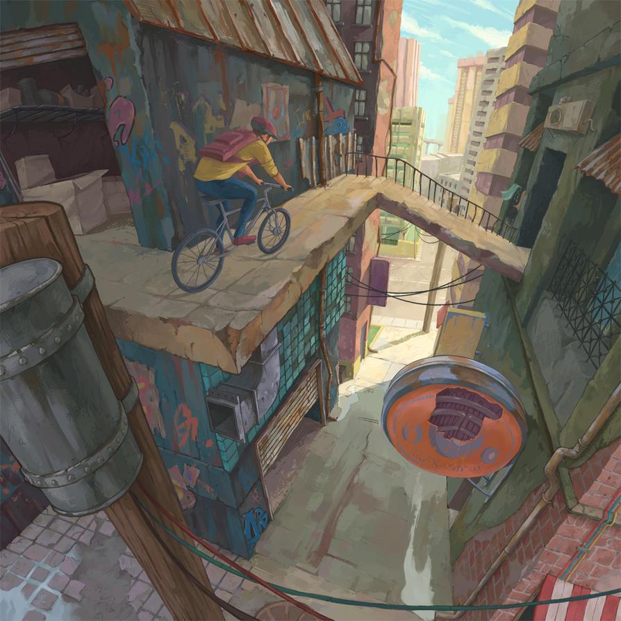 City Slicker by Yiannisun