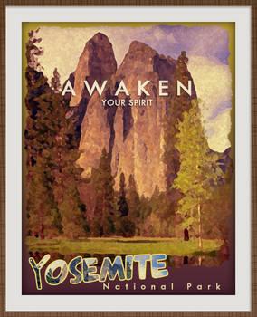 Travel Poster - Digital Painting