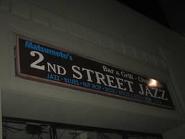 2nd Street Jazz Sign