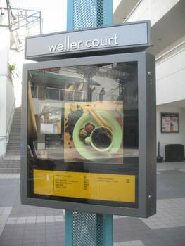 Weller Court Sign