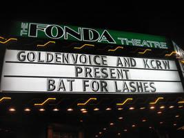 The Fonda Theatre Marquis: Bat For Lashes