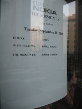 Club Nokia 'Marquis': The Mission UK