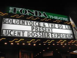 Fonda Theatre Marquis: Lucent Dossier Experience