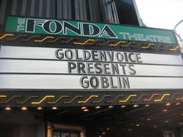 The Fonda Theatre Marquis: Goblin