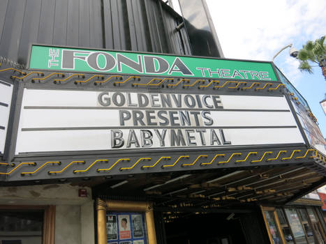 The Fonda Theatre Marquis Day: BABYMETAL