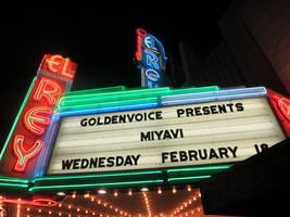 El Rey Theatre Marquis: Miyavi