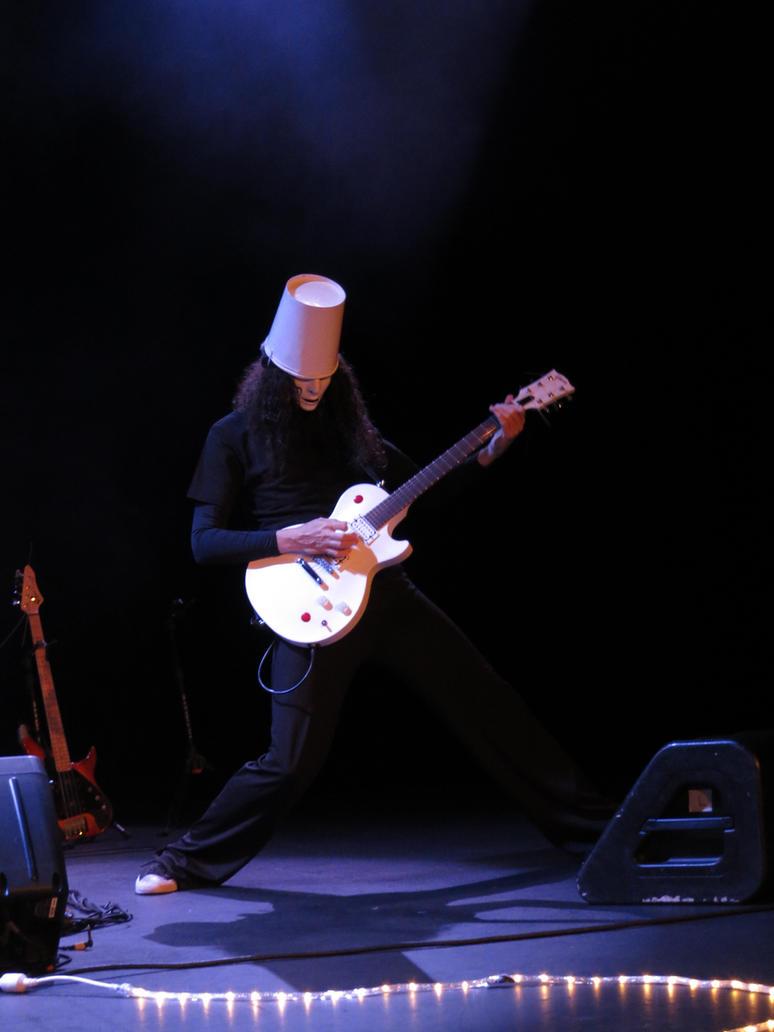 Buckethead by iancinerate