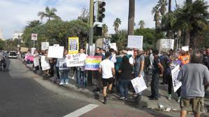 Los Angeles Anti-Trump Protest March