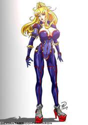 Mizuki in her classic V suit. by armaron