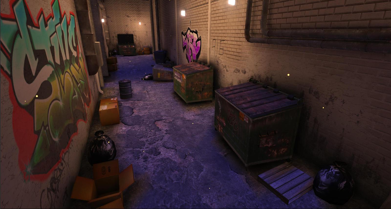 Alleyway by Geminas0wng