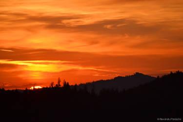 Carpathian Sunset II by AlecsPS