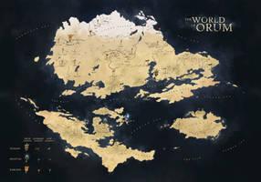 Orum - World Map by Petros-Stefanidis