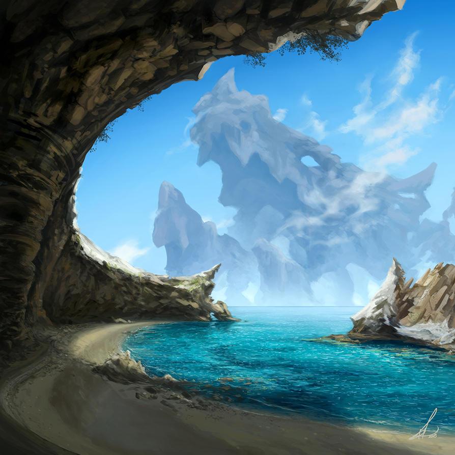 The Dragon of Milos by Petros-Stefanidis