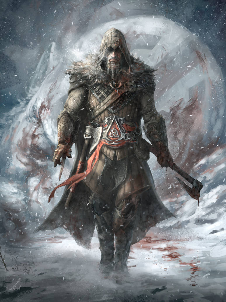 Assassin's Creed Ragnarok Viking- Character Design by Petros-Stefanidis