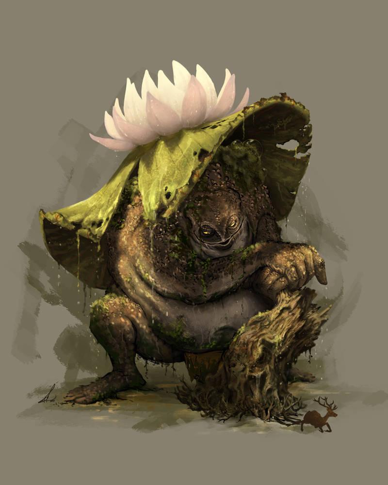 Swamp Troll by Petros-Stefanidis