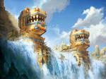 Mayan Watermills by Petros-Stefanidis