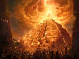 Mayan Lightning Conductor