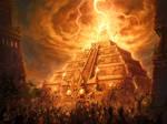 Mayan Lightning Conductor by Petros-Stefanidis