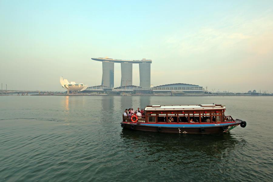 singapore bumboat by ivanwsd