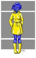 Monster girl: slime by alliartist