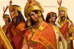 Hetalia,Inca,Cozco,Sapa Inca