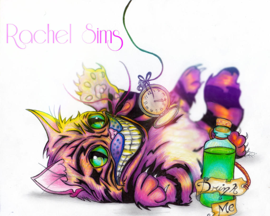The Cheshire Kitten by XxParanoidAndroidxX
