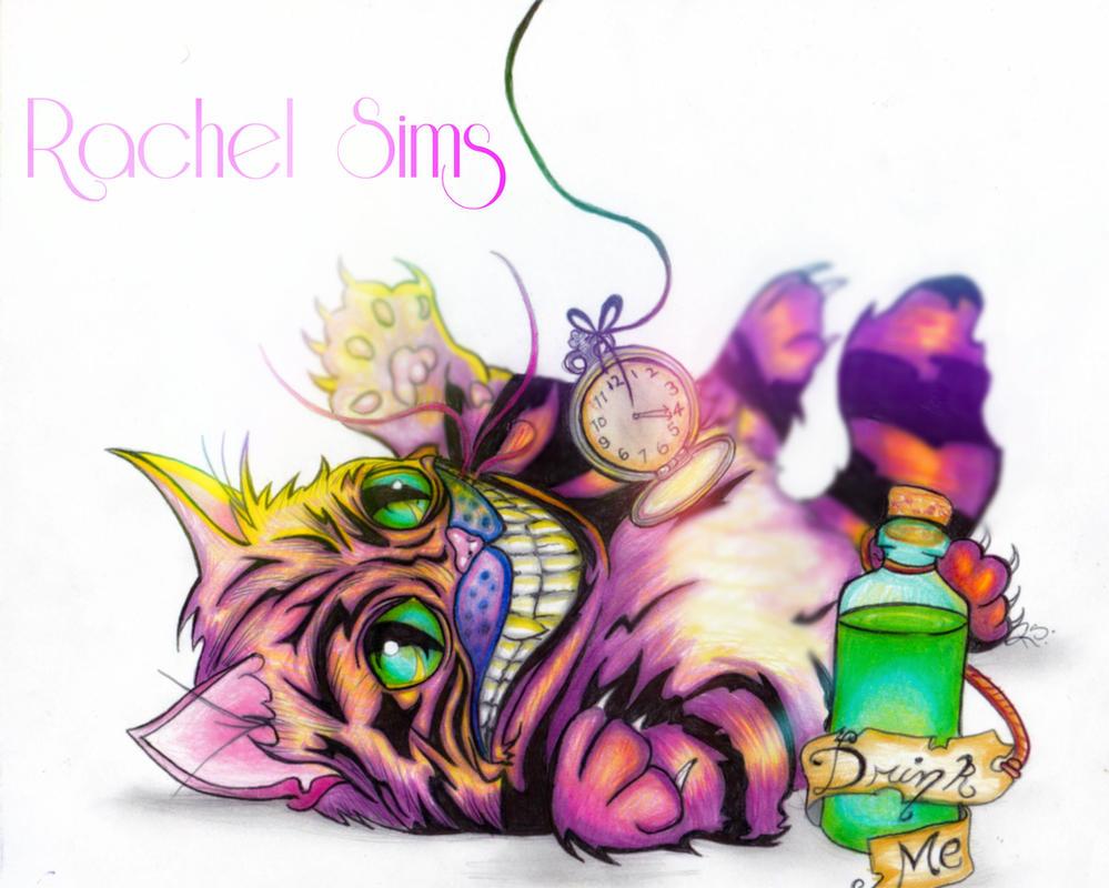 The Cheshire Kitten by XxParanoidAndroidxX