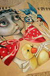 almost finished circus doll by XxParanoidAndroidxX