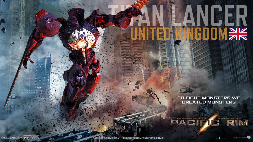 Pacific Rim Jaeger-Titan Lancer by Saguinius on DeviantArt Pacific Rim Jaeger Countries