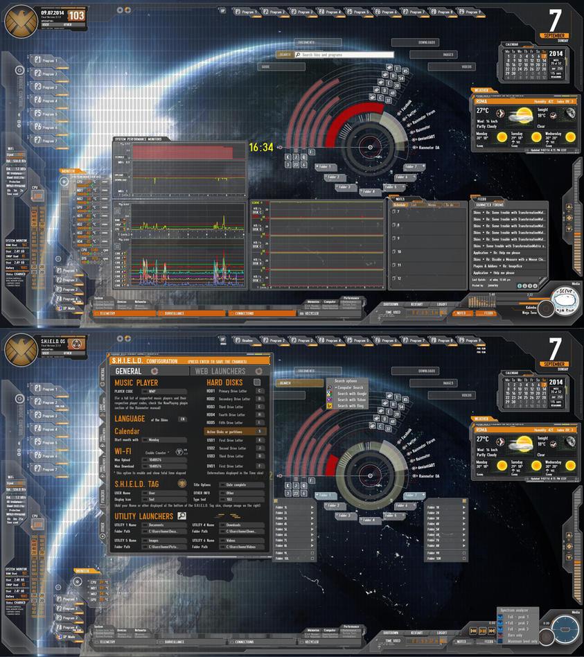 AVENGERS S.H.I.E.L.D. 2.1 Almost final by Fonpaolo