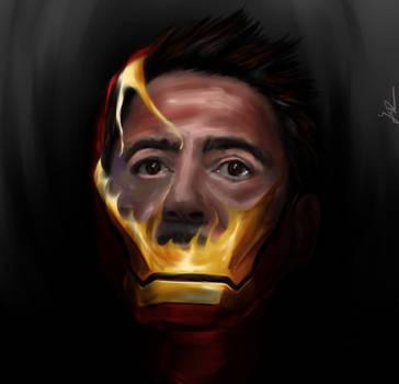 Iron Man Speedpaint by Ja-Sz